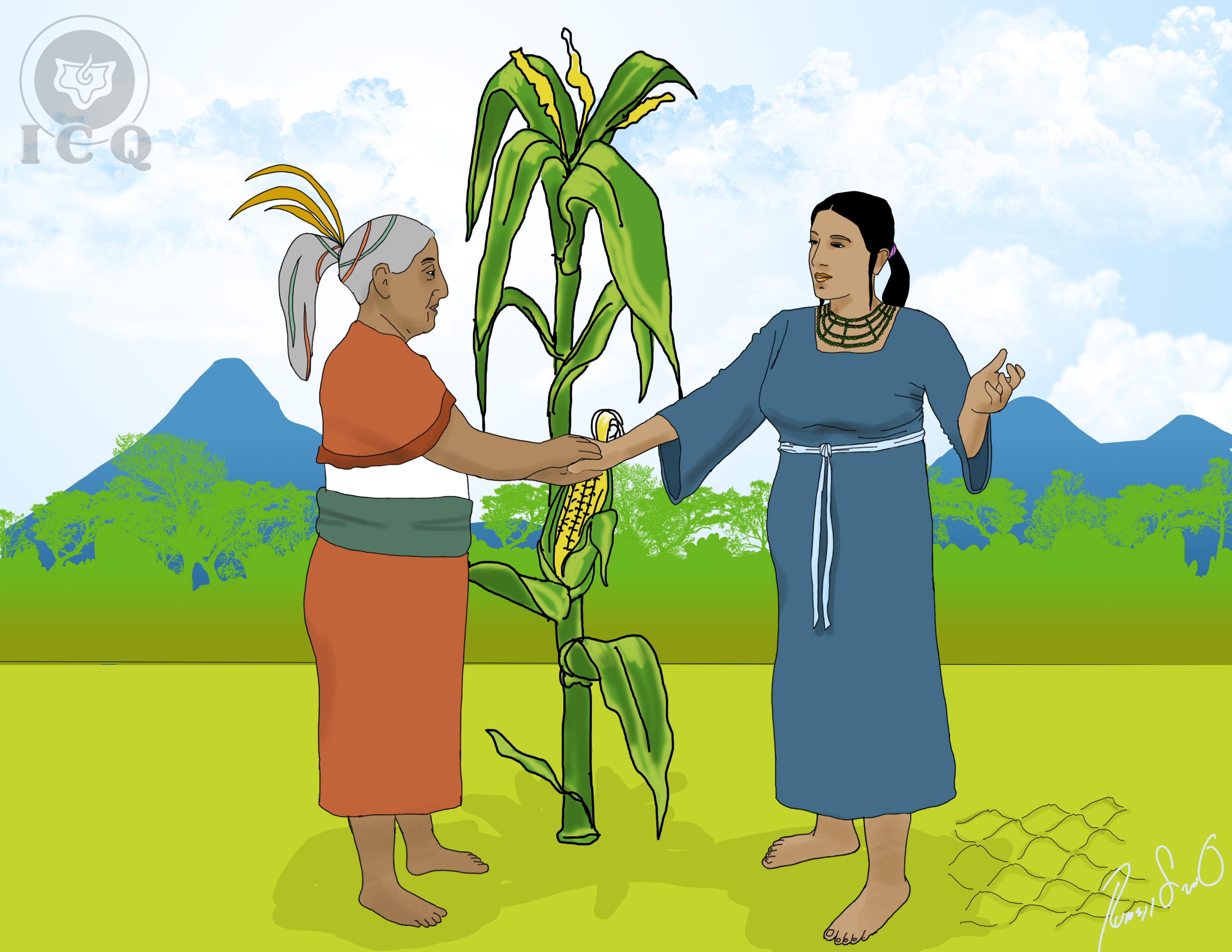 the popol vuh El popol vuh inicia con la historia de la creación de los animales y la vegetación de aquellos días, los dioses tepeu, gucumatz y hurakan se juntaron para crear al.